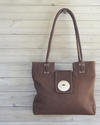 Gypsy fair trade leather bag from Zambia