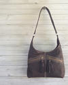 Slouch Chocolate Leather Bag