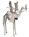 Kamel mit Reiter, Tuareg-Kunsthandwerk aus Niger