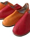 Handgemachte Leder-Babouche für Frauen - Gundara - handgemacht - Fairchain