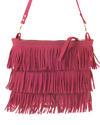 Small Fringe - Small shoulder bag - Jackal and Hide