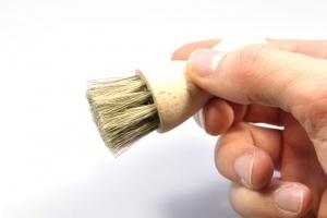 Tapir - application brush - horse hair - beech wood - Made in Germany